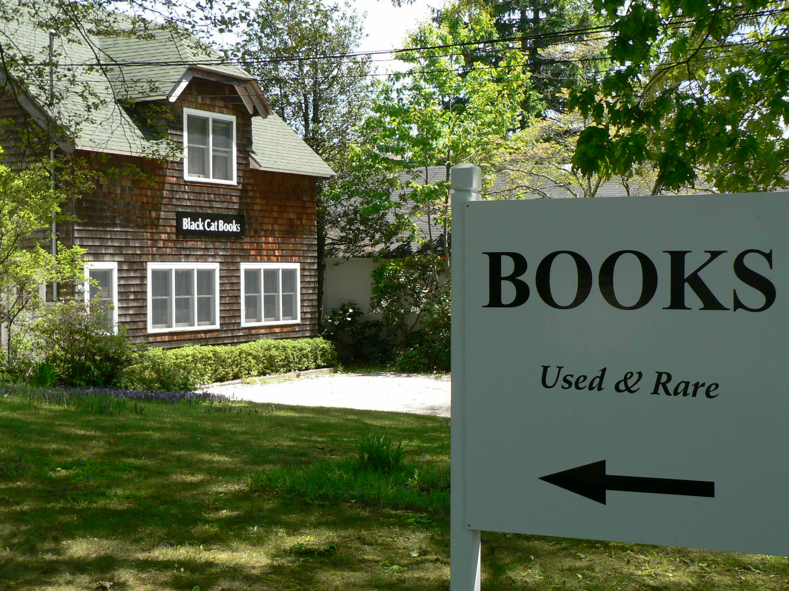 ABOUT BLACK CAT BOOKS · 54 North Ferry Road, Shelter Island NY 11964 ...