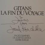 Gitans La Fin Du Voyage Signed