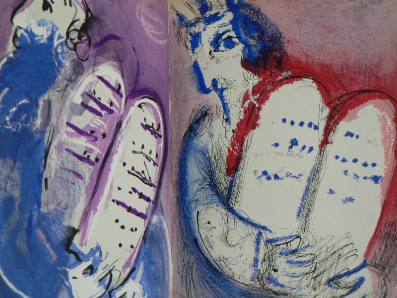 marc chagalls works reflected his heritage which was